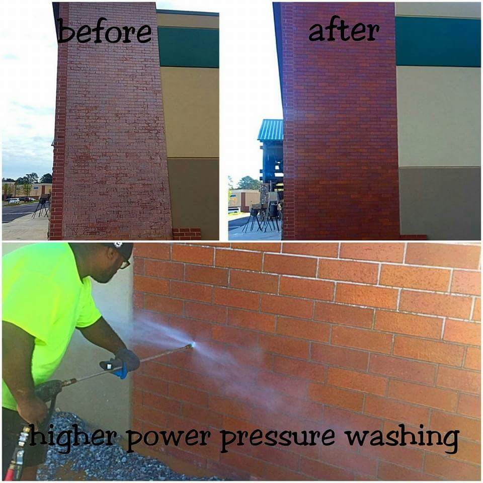 power washing commercial