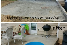 patio and house pressure washing powder springs, ga